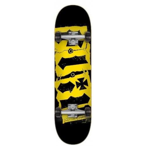 Skate Completo Flip: Team Destroyer Black 7.5