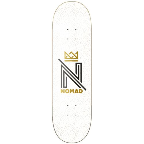 Tábua Nomad: OG Logo White 8.50x31.69