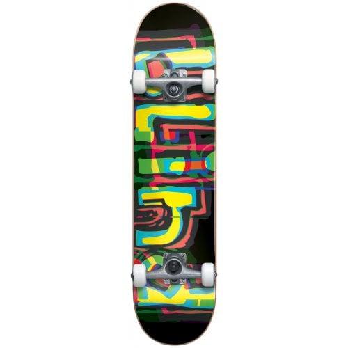 Skate Completo Blind: Logo Glitch FP Black 7.875x31.7