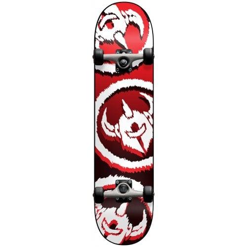 Skate Completo Darkstar: Dissent FP Red 7.5x31.1
