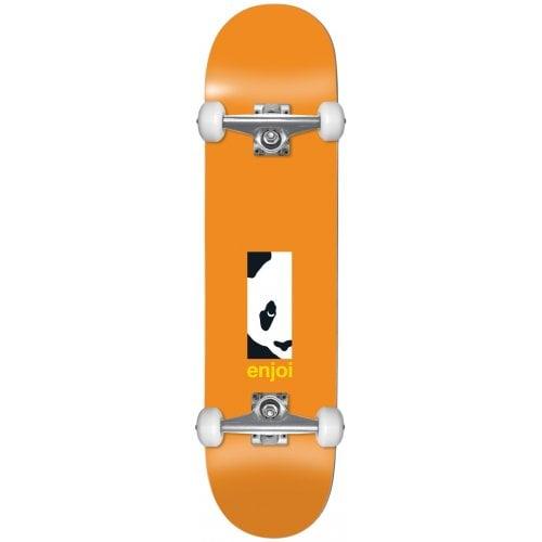 Skate Completo Enjoi: Box Panda FP Orange 8.125x31.7