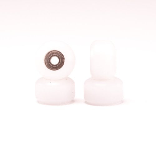 Bollie Fingerboards Wheels: Pro Wheels White