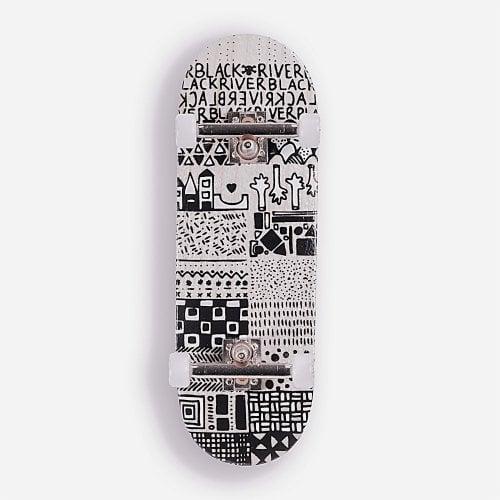 Complete Fingerboard BerlinWood: BR En Voyage Mini Pattern Set Classic 29mm