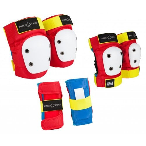 Set Protecções Pro-Tec: Street Gear Junior 3 Pack Retro