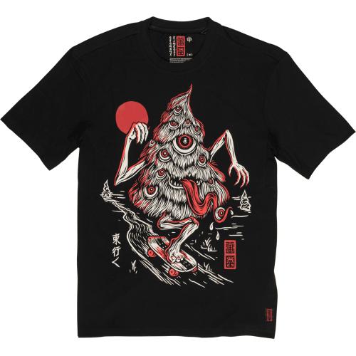 T-Shirt Element: Tree Ghost BK
