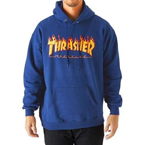 Sweatshirt Thrasher: Flame Logo Hood RY