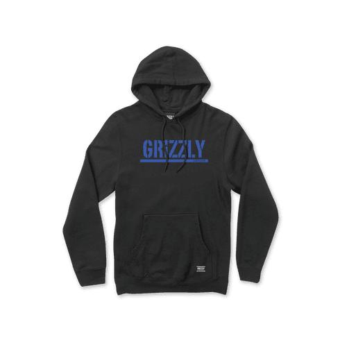 Sweatshirt Grizzly: Stamp Hoodie BK