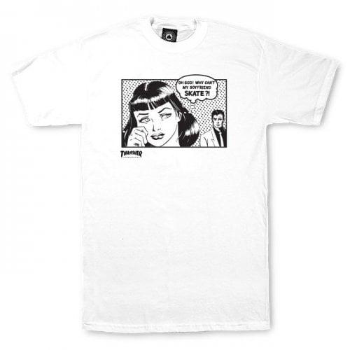 T-Shirt Thrasher: Boyfriend WH