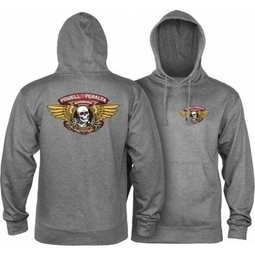 Sweatshirt Powell Peralta: Winged Ripper Gun Heather