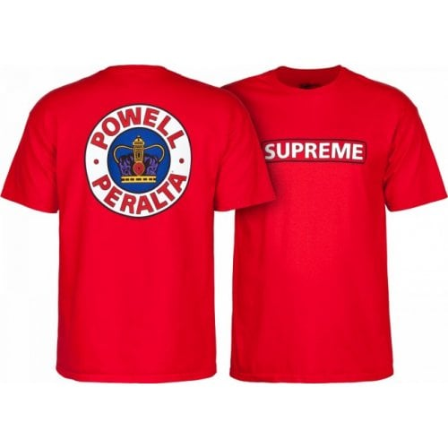 T-Shirt Powell Peralta: Supreme Red