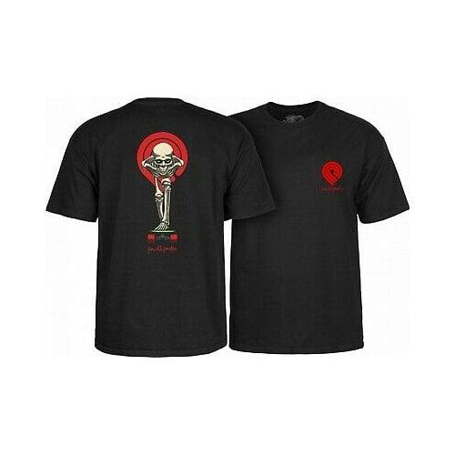 T-Shirt Powell Peralta: Tucking Skeleton Black