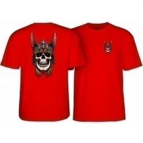 T-Shirt Powell Peralta: Andy Anderson Skull Red