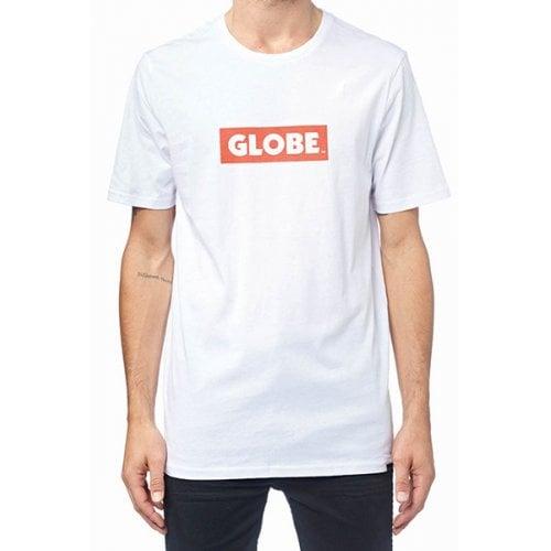 T-Shirt Globe: Box Tee WH