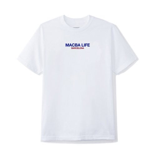 T-Shirt Macba Life: Two Tones WH