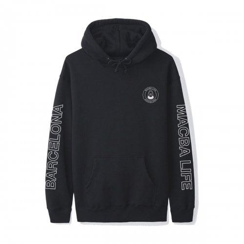 Sweatshirt  Macba Life: Free Hand Hoodie BK