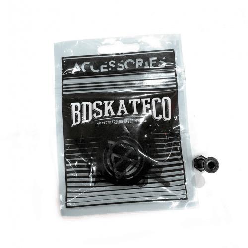 """Parafusos BDSkateCO: All Black 1"""" Allen"""