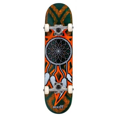 Skate Completo Enuff: MINI Dreamcatcher Teal/Ora 7.25x29.5