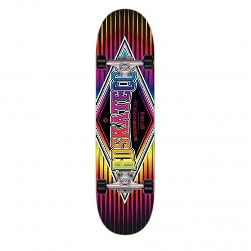 Skate Completo BDSkateCO: Diamond Multitone Black 7.75