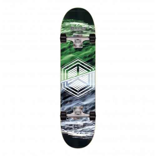 Skate Completo BDSkateCO: Nature Water 7.8