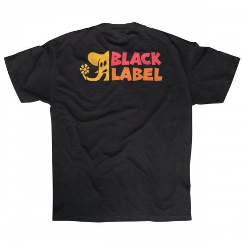 T-Shirt Black Label: Elephant Sector Black