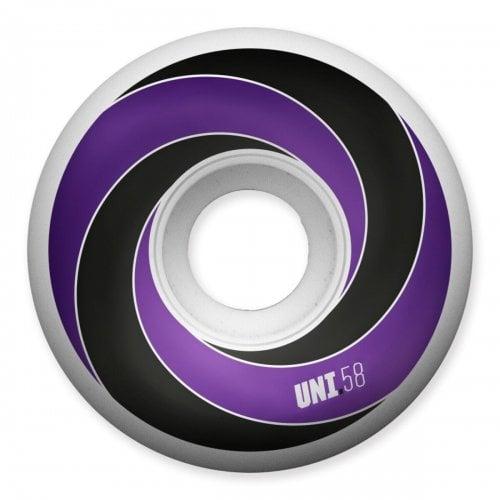 Rodas Universal:Spiral Purple 101A (58mm)