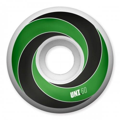 Rodas Universal: Spiral 101A Green (60mm)