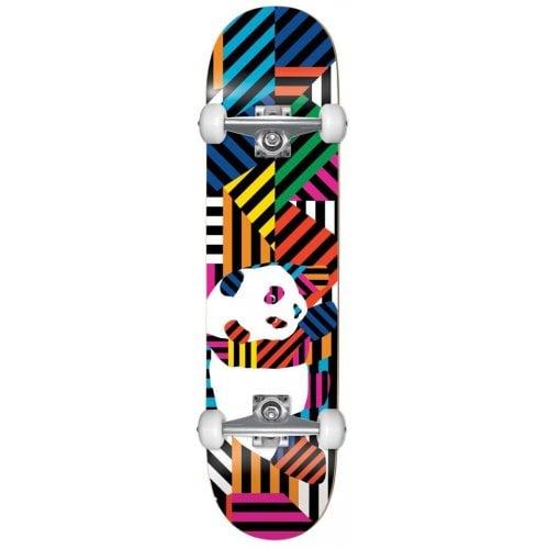 Skate Completo Enjoi: Panda Stripes Resin Multi 7.75x31.2