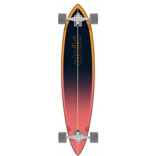 "Longboard Completo Aloiki: Nazare 40""x9.5"" Pintail"