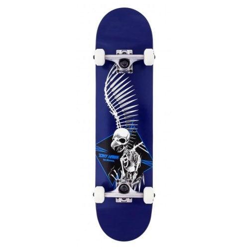 Skate Completo Birdhouse: Stage 1 Full Skull 2 Blue 7.5