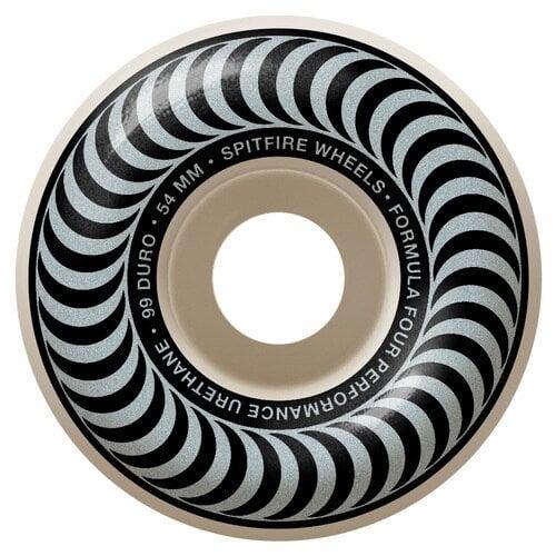 Rodas Spitfire: F4 Classics Silver (54mm)