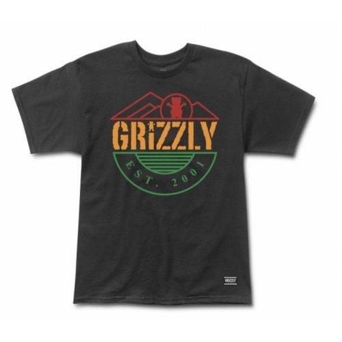 T-Shirt Grizzly: Higher Standard SS Tee BK