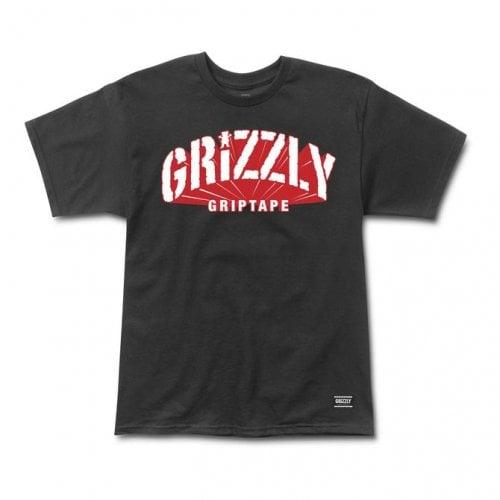 T-Shirt Grizzly: Universidad SS Tee BK
