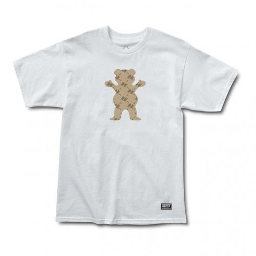 T-Shirt Grizzly: Lap Of Luxury Bear SS Tee WH