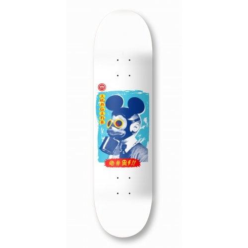 Tábua Imagine Skateboards: Mickey Mask White 8.2