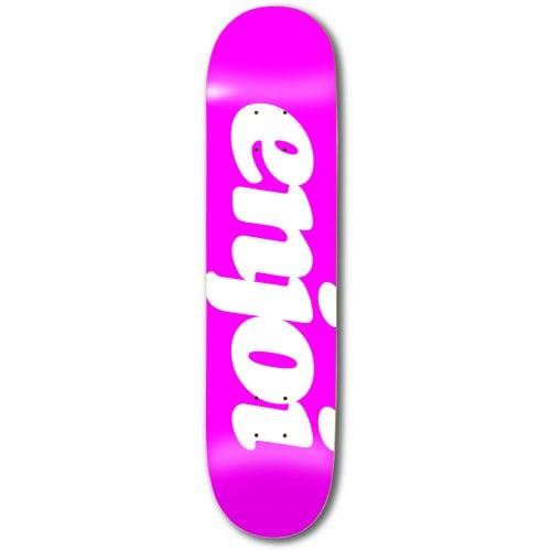 Tábua Enjoi: Flocked HYB Pink 8.0x31.6