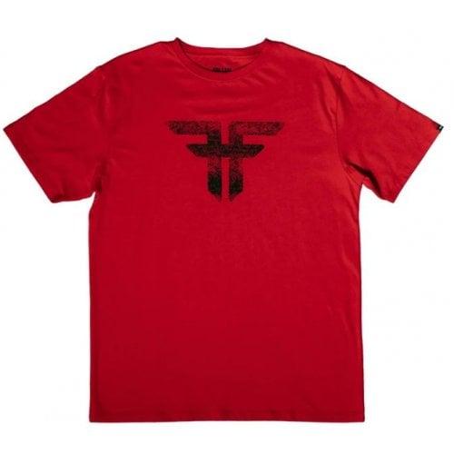 T-Shirt Fallen: Painted Red