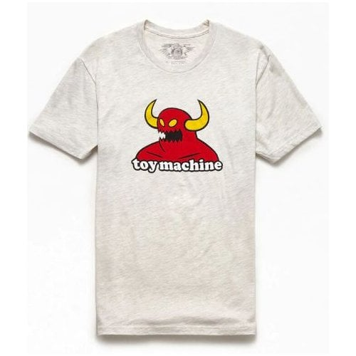 T-Shirt Toy Machine: Monster Heather Grey