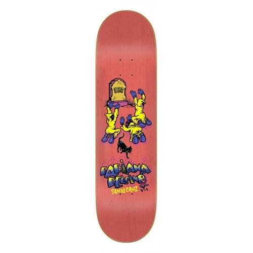 Tábua Santa Cruz Skateboards: Delfino Ego 8.25x31.83