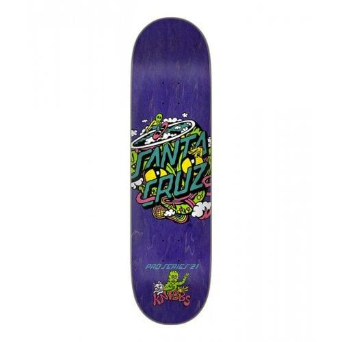 Tábua Santa Cruz Skateboards: Knibbs Reptililan Dot 8.27x31.83