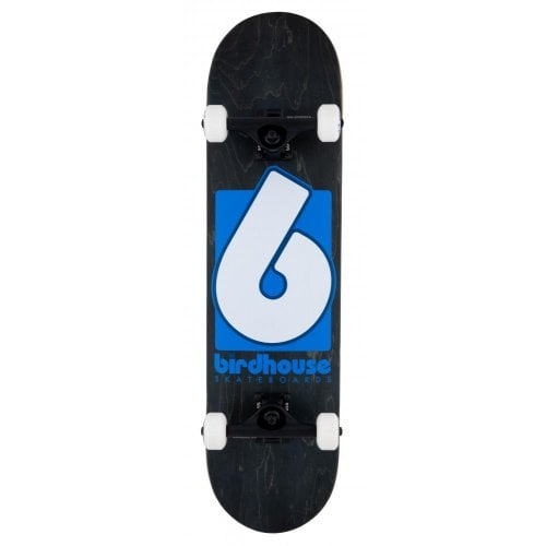 Skate Completo Birdhouse: Stage 3 B Logo Black/Blue 8.0x31.5