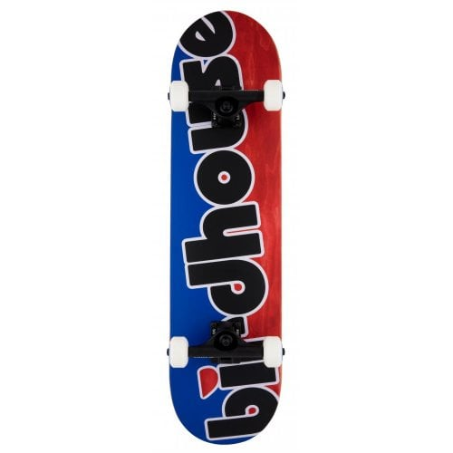 Skate Completo Birdhouse: Stage 3 Toy Logo Red/Blue 8.0x31.5