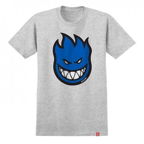 T-Shirt Spitfire: Bighead Fill S/S HTR/BLUE