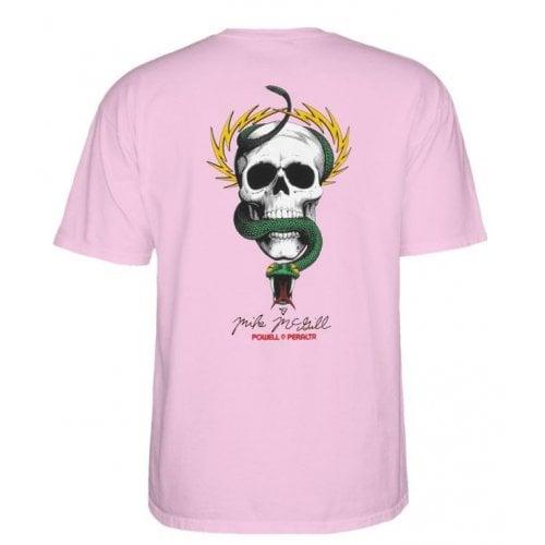 T-Shirt Powell Peralta: McGill Skull & Snake PINK