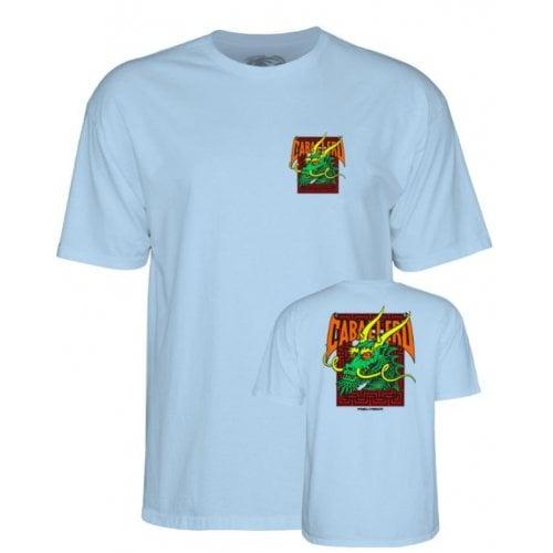 T-Shirt Powell: Caballero Street Dragon PW Blue