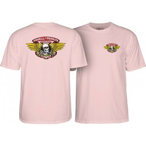 T-Shirt Powell Peralta: Winged Ripper Pink