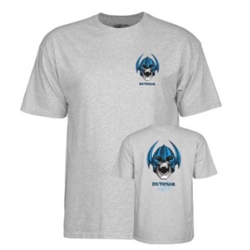 T-Shirt Powell Peralta: Welinder Nordic Skull Heather Grey