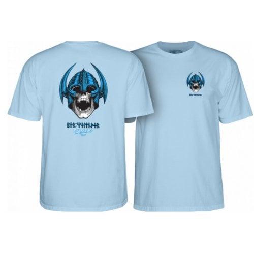T-Shirt Powell Peralta: Welinder Nordic Skull Powder Blue