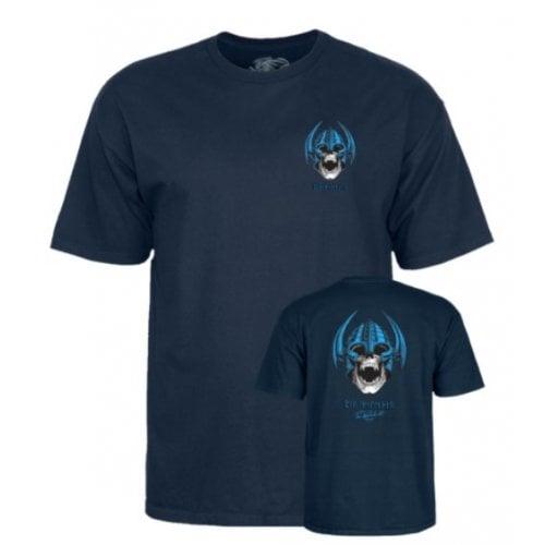 T-Shirt Powell Peralta: Welinder Nordic Skull Navy