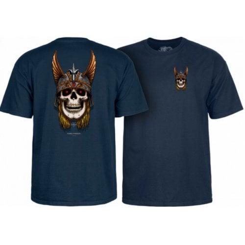 T-Shirt Powell Peralta: Andy Anderson Skull Navy
