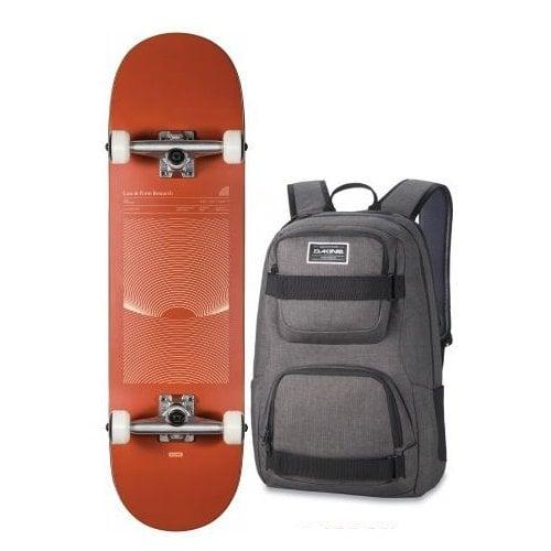 Skate Completo Globe + Backpack Dakine: G1 Lineform Boxed Cinnamon 8.25x32